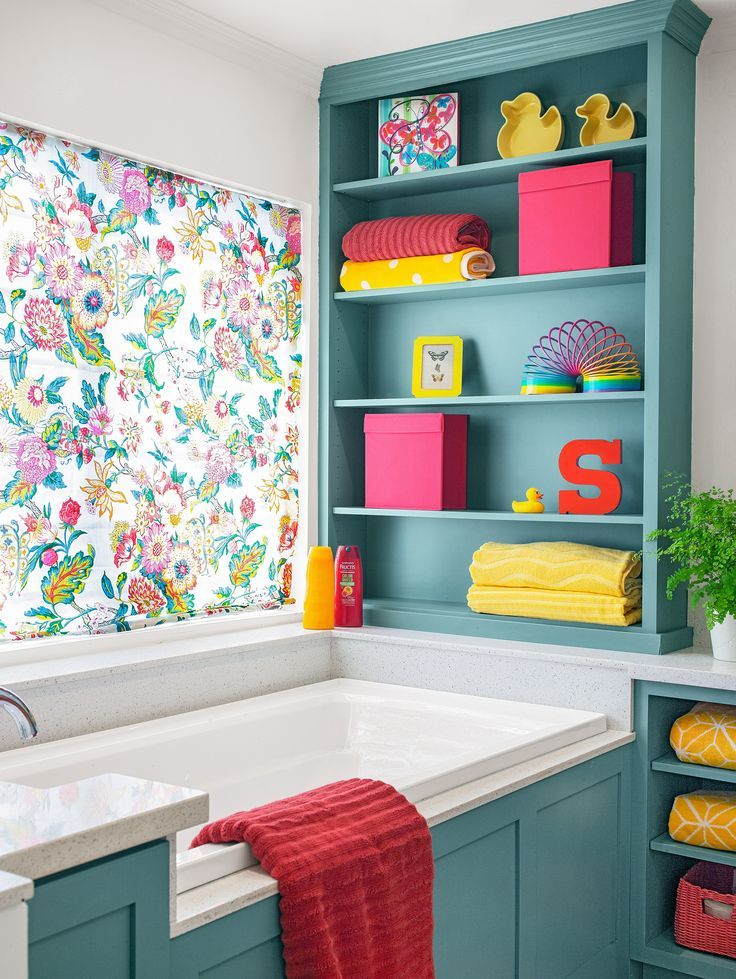 Before and After Bath: A Versatile, Kid-Friendly Space ...