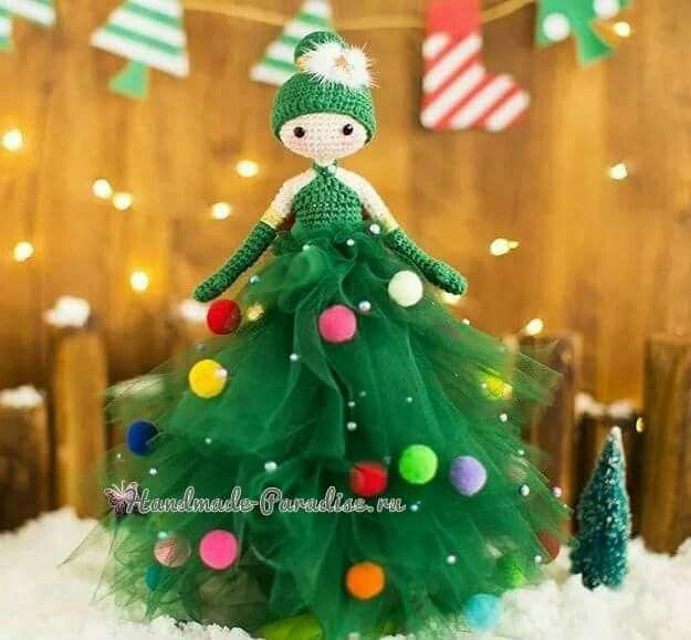 Doll albero | # ❤✿Christmas ✩ Weihnachten ✩ Natale ...