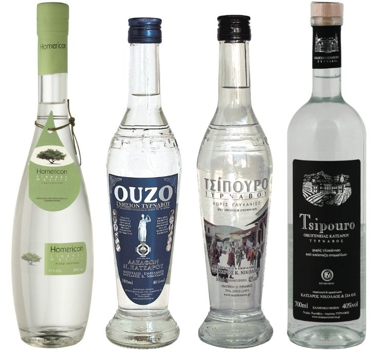 Tsipouro Ouzo And Mastic Liqueur Liqueur Ouzo Liquor