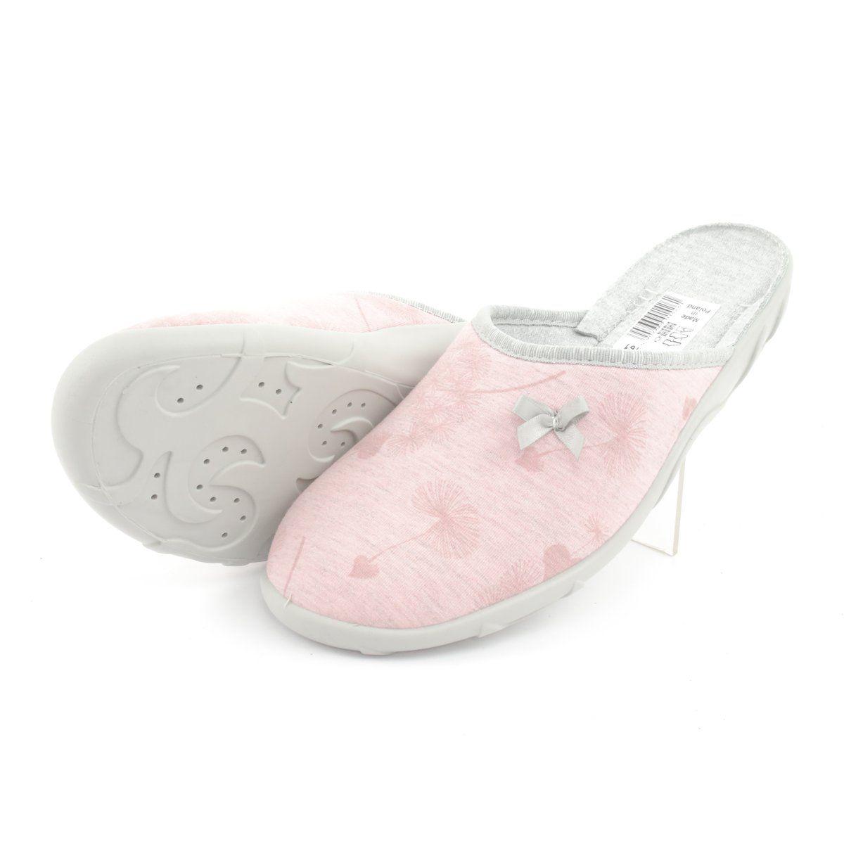 Befado Kolorowe Obuwie Damskie 235d161 Rozowe Womens Slippers Homemade Shoes Women Shoes