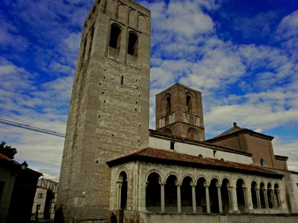 Iglesia de San Martín Arévalo AREVALO. Avila. Spain.