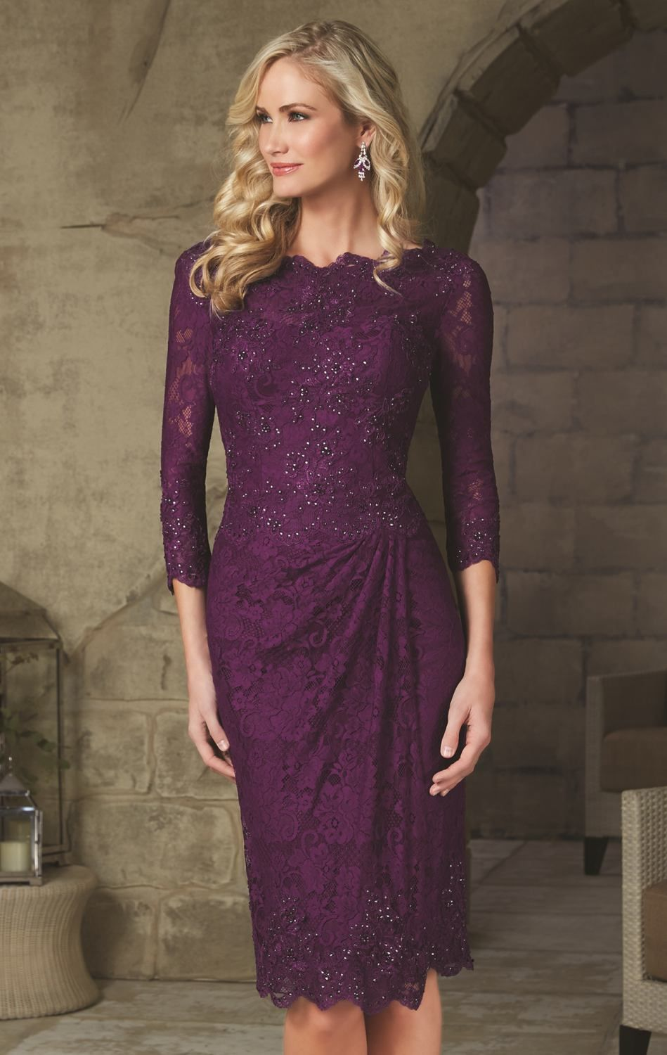 Mori lee 71238 by mgny by mori lee weddings pinterest mori lee cheap dress code dresses buy quality dress top directly from china dress marie suppliers modest purple lace knee length mother of the bride dresses 2015 ombrellifo Choice Image