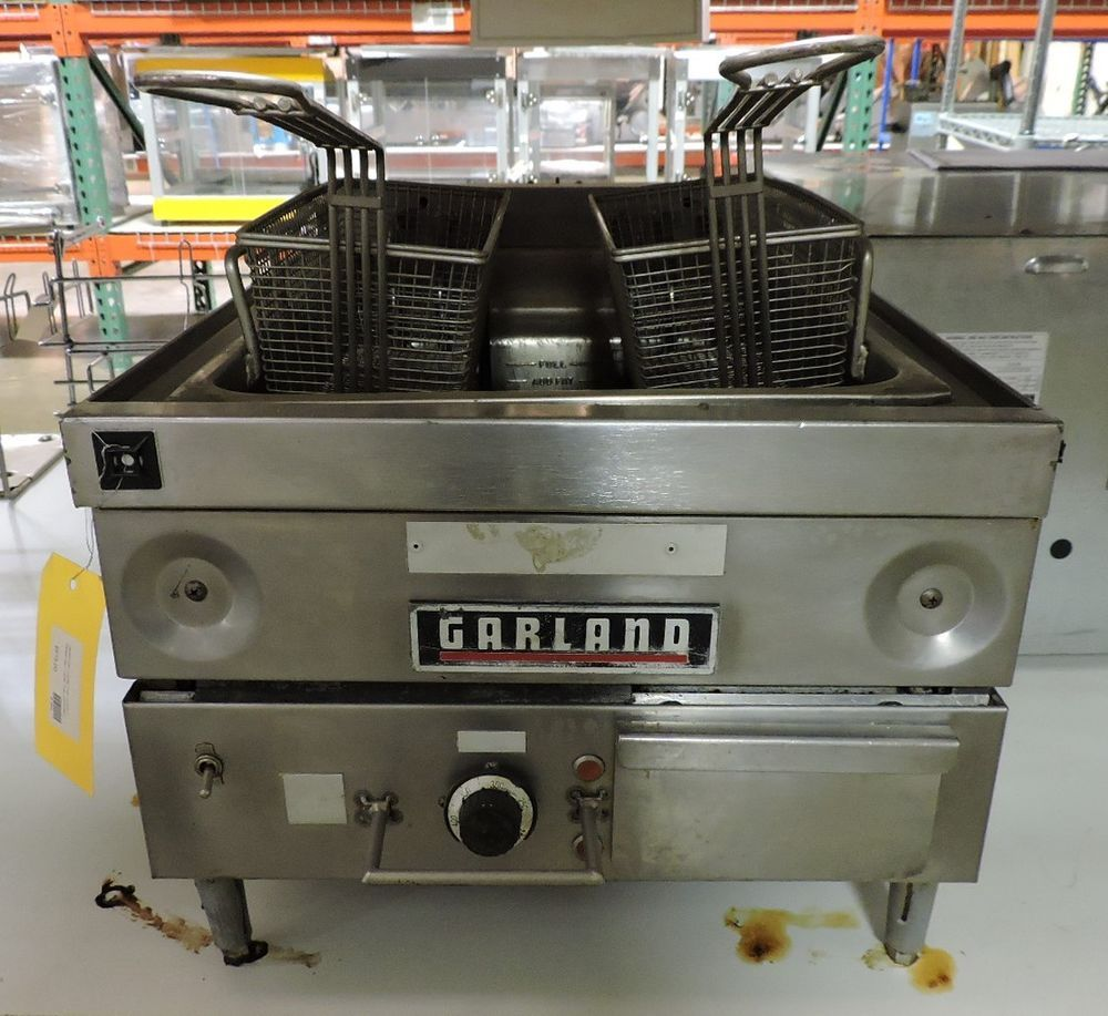 Garland E24 31f Commercial Electric Countertop Fryer Garland