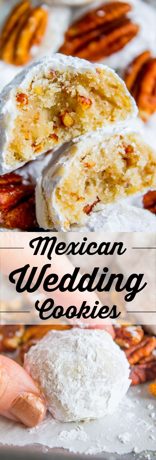 Mexican Wedding Cookies (Russian Tea Cakes) The Food