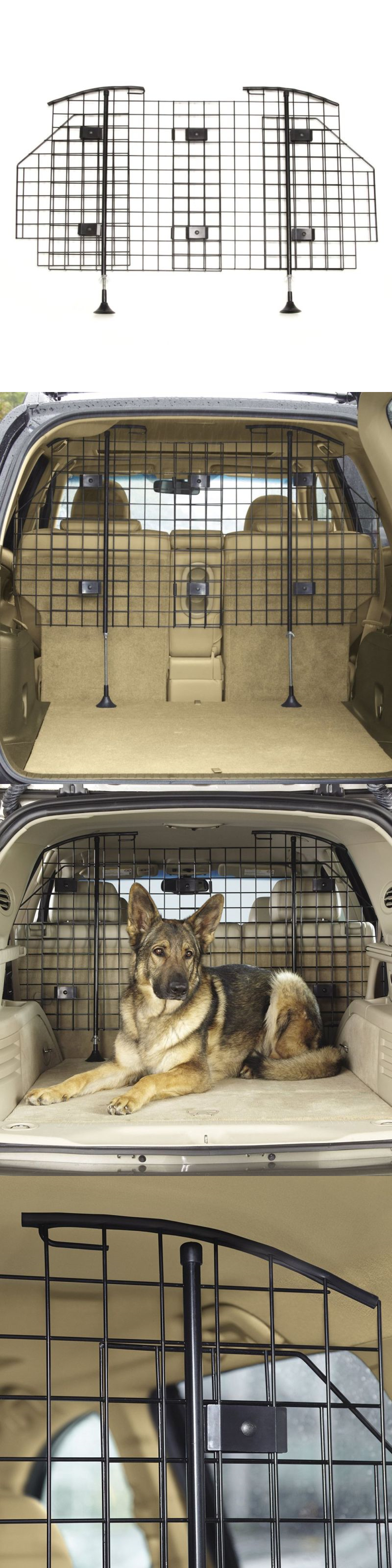 Car seats and barriers guardian gear grid vehicle barrier