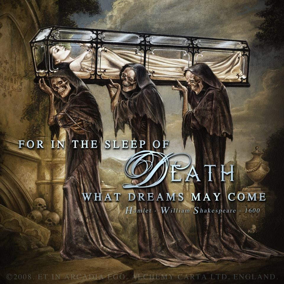 Alchemy Gothic Art And Skulls