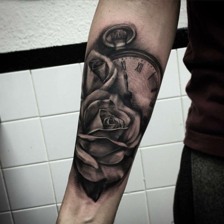 Tatuajes Brazo, Unos Diseños Interesantes De Flora Y Fauna