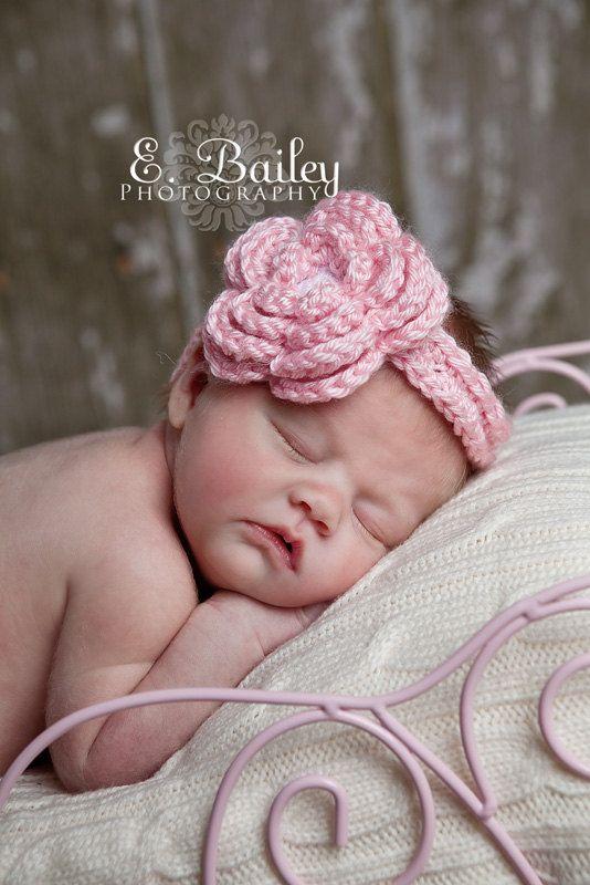 Tantisy /♣↭/♣ Headband for Baby Girl ☘ Children Turban Headband Bowknot Corn Kernels Knitted Headwrap Multicolor Hair Band