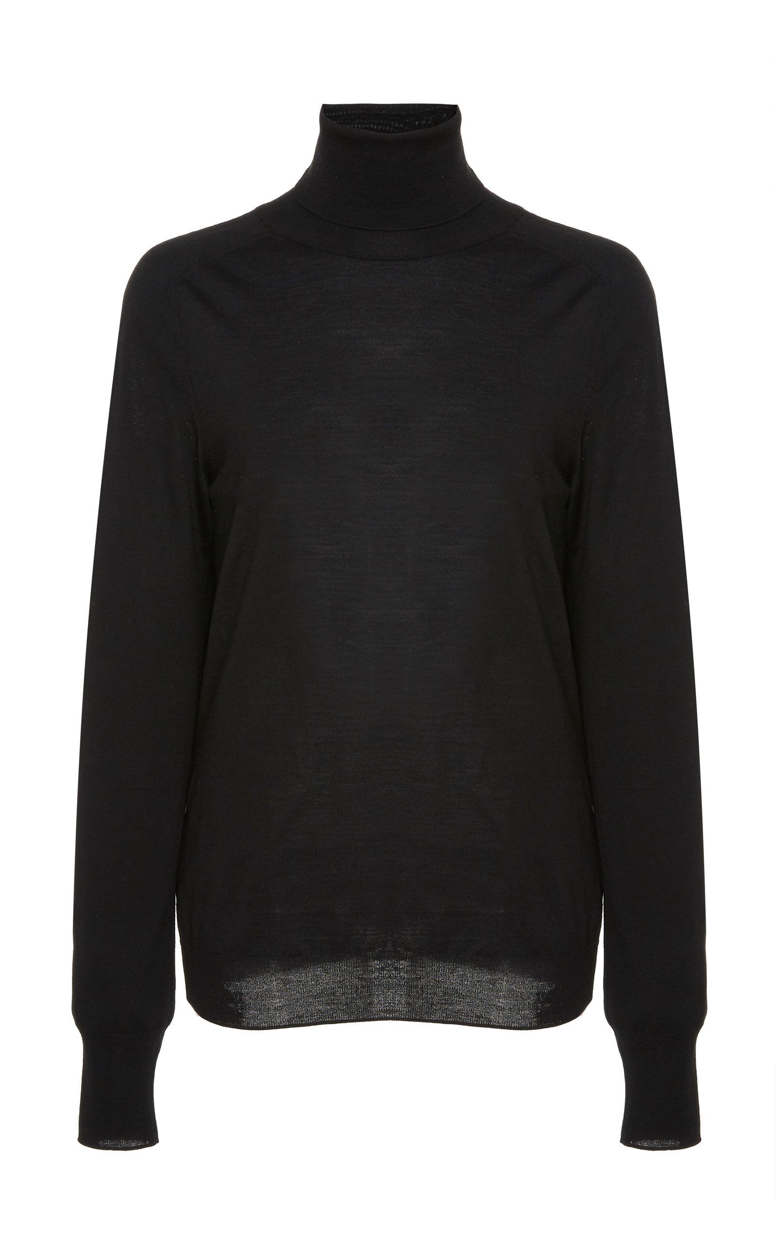 baa405d84c3 Polo-Neck Sweater | I'll stop wearing BLACK when they make a DARKER ...