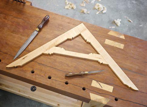 Tavolo Di Lavoro English : Free plans: make a wooden english layout square falegnameria fai