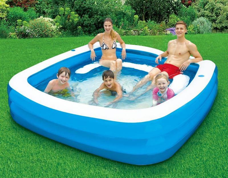 Gentil Deluxe Square Party Pool   Backyard Ocean