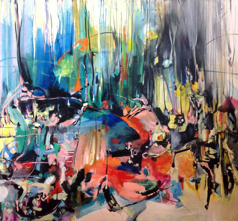 Above Painting Abstract Art Painting Art Painting