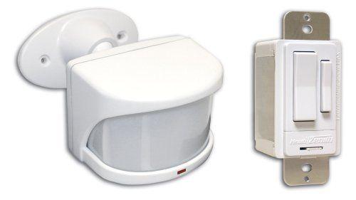Heath Zenith Sl 6053 Wh Wireless, Outdoor Remote Motion Light Switch