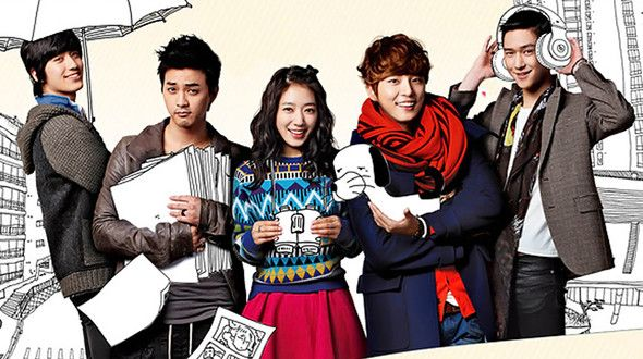 Flower Boy Next Door, a somewhat boring drama. Never finished watching.