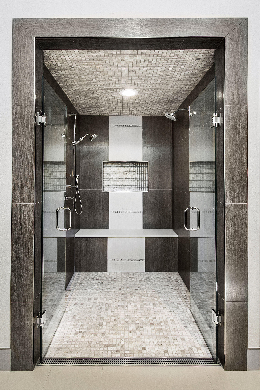 Contemporary Shower Contemporary Master Bathroom Bathroom Design Contemporary Shower
