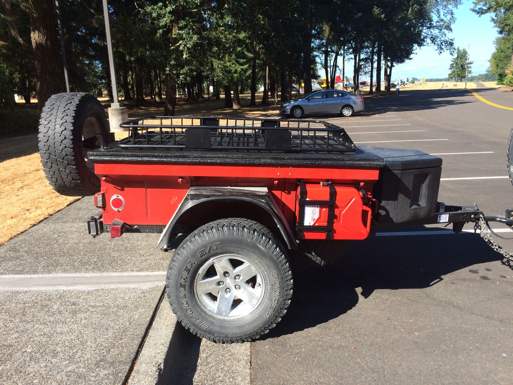 M416 Trailer | Camping Trailer | Expedition trailer, Jeep, Kayak trailer