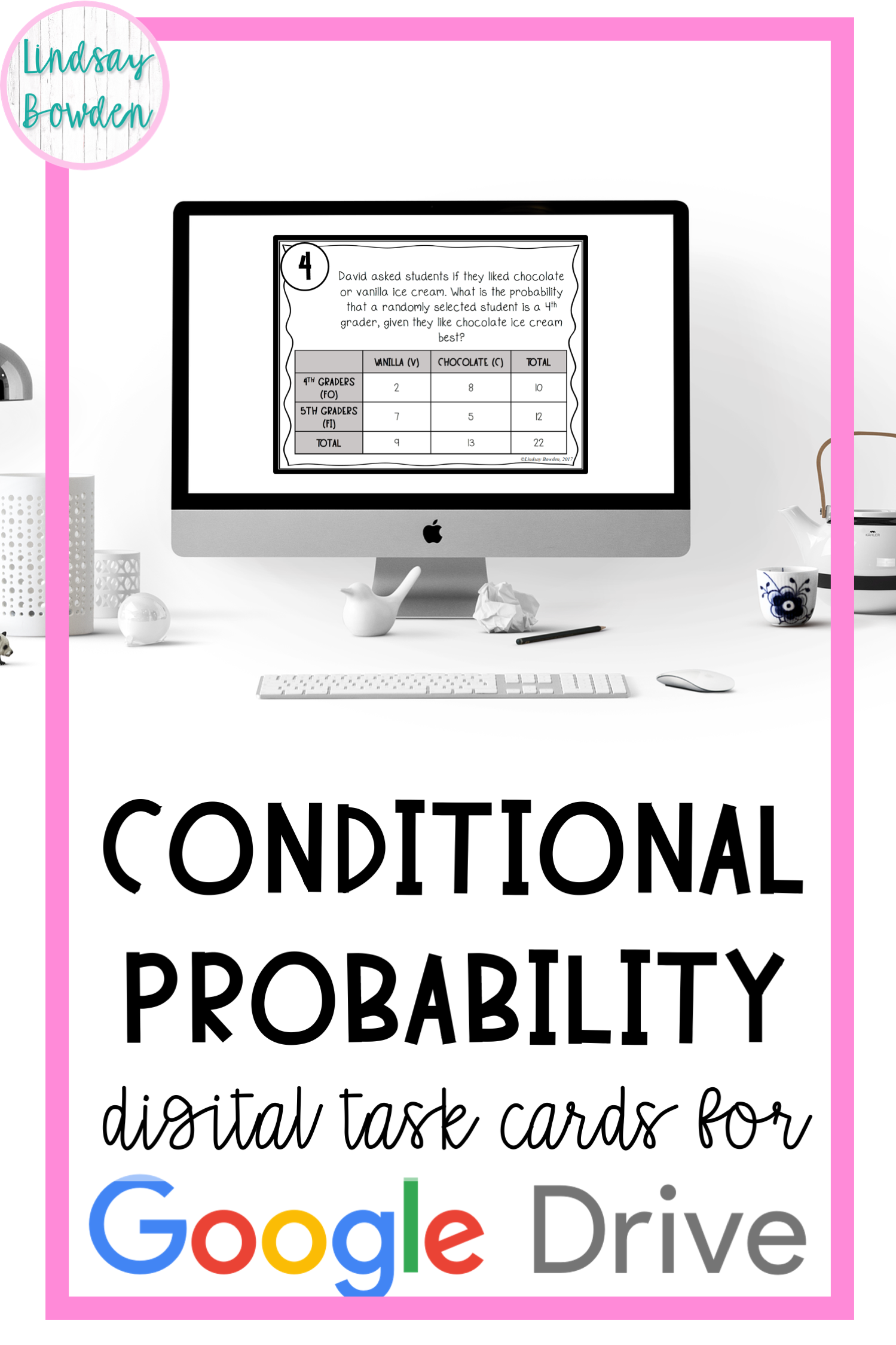 Distance Learning Conditional Probability Digital Task