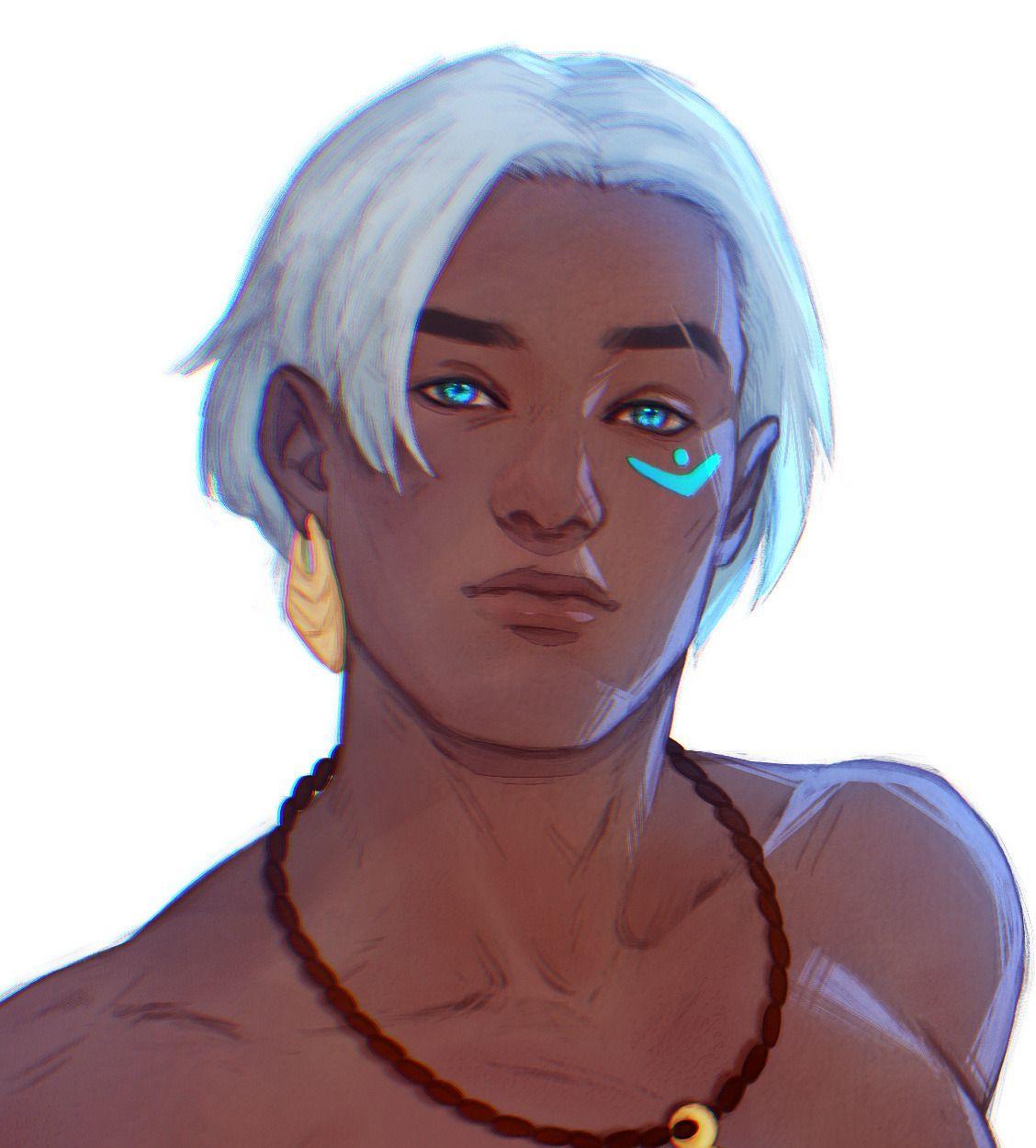Sword Over Water Sokka White Hair Zuko In 2020 The Last Avatar Character Portraits Zuko