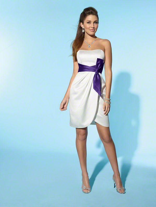 Rehearsal dinner dress...same purple as the bridesmaid dresses ...