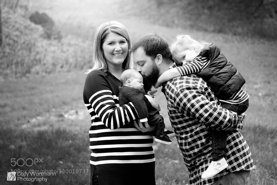 Lovely family photos of the day Family in B&W by codywortmann. Share your moments with #nancyavon here www.bit.ly/jomfacial