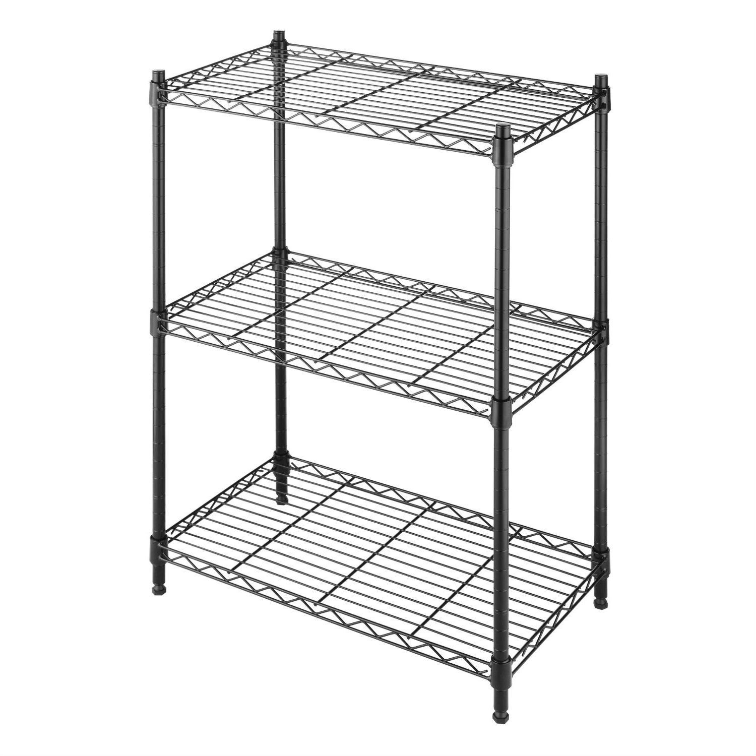Regal Schwarz Metall Black Metal Patio Chairs Stühle Storage Shelves Storage Rack