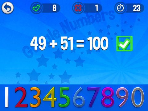 Gurgle Numbers have fun practising your number bonds and times