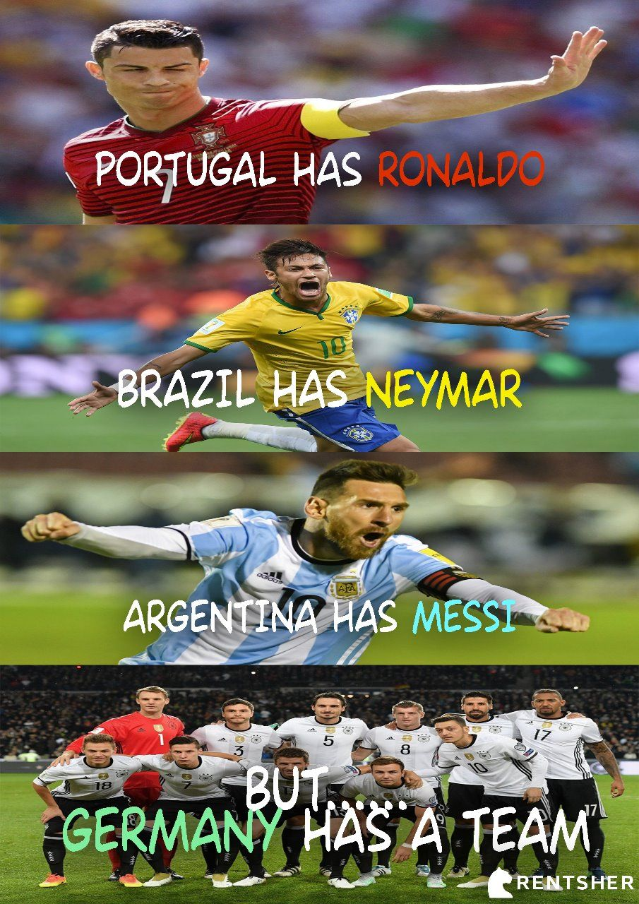 FIFA World Cup 2018 Football Meme by RentSher. fifa2018