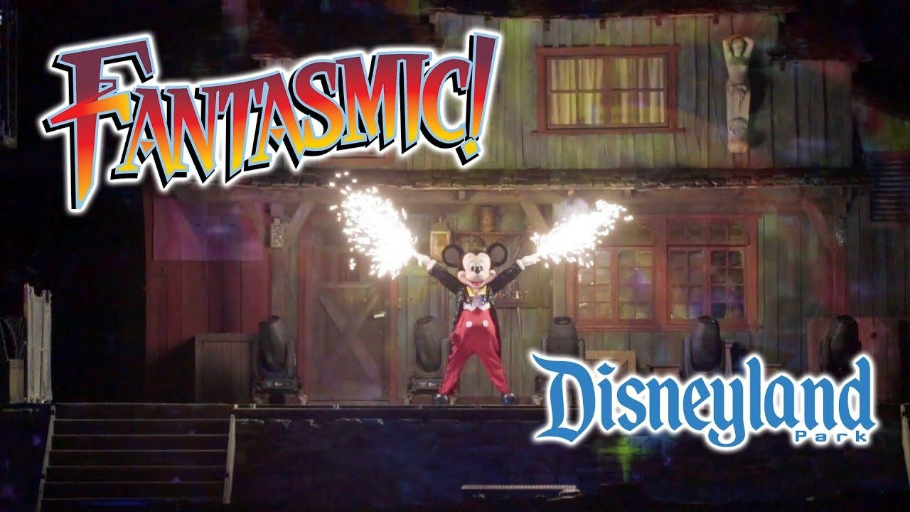 2019 Disneyland Fantasmic Complete Show Low Light Hd Disneyland Low Lights Thrill Ride