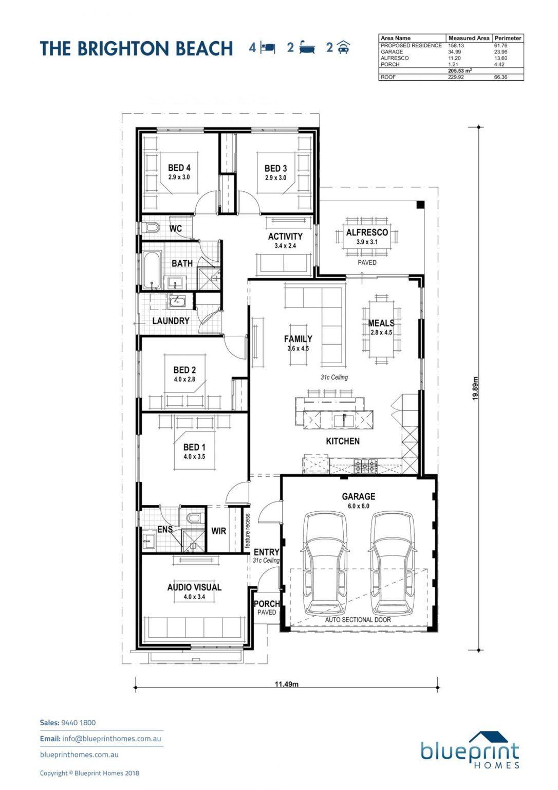 Brighton Beach Perth Home Design In 2020 Bungalow House Design