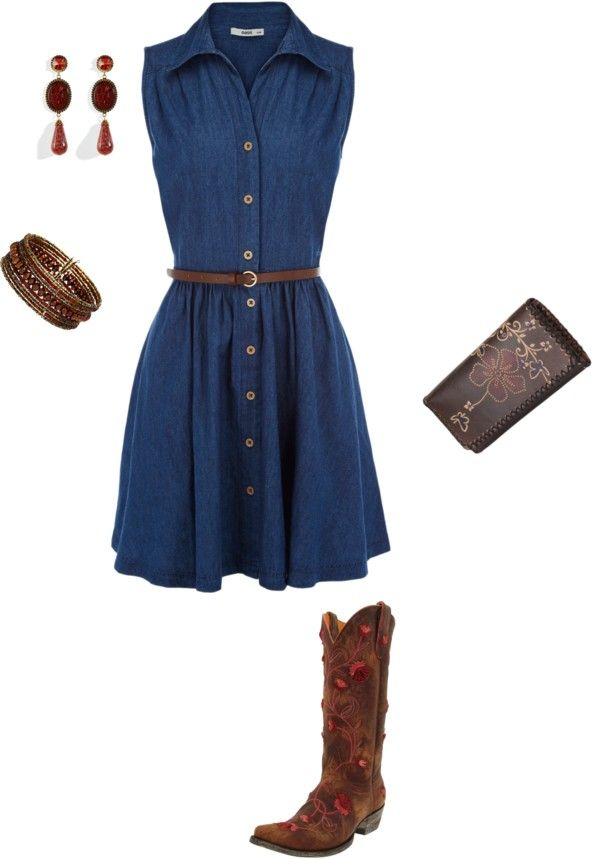 denim, created by sam-skip on Polyvore