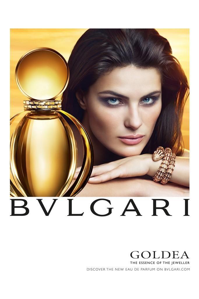 Isabeli Fontana Shines in Bulgari 'Goldea' Fragrance Ad | Bvlgari goldea,  Perfume, Fragrance ad