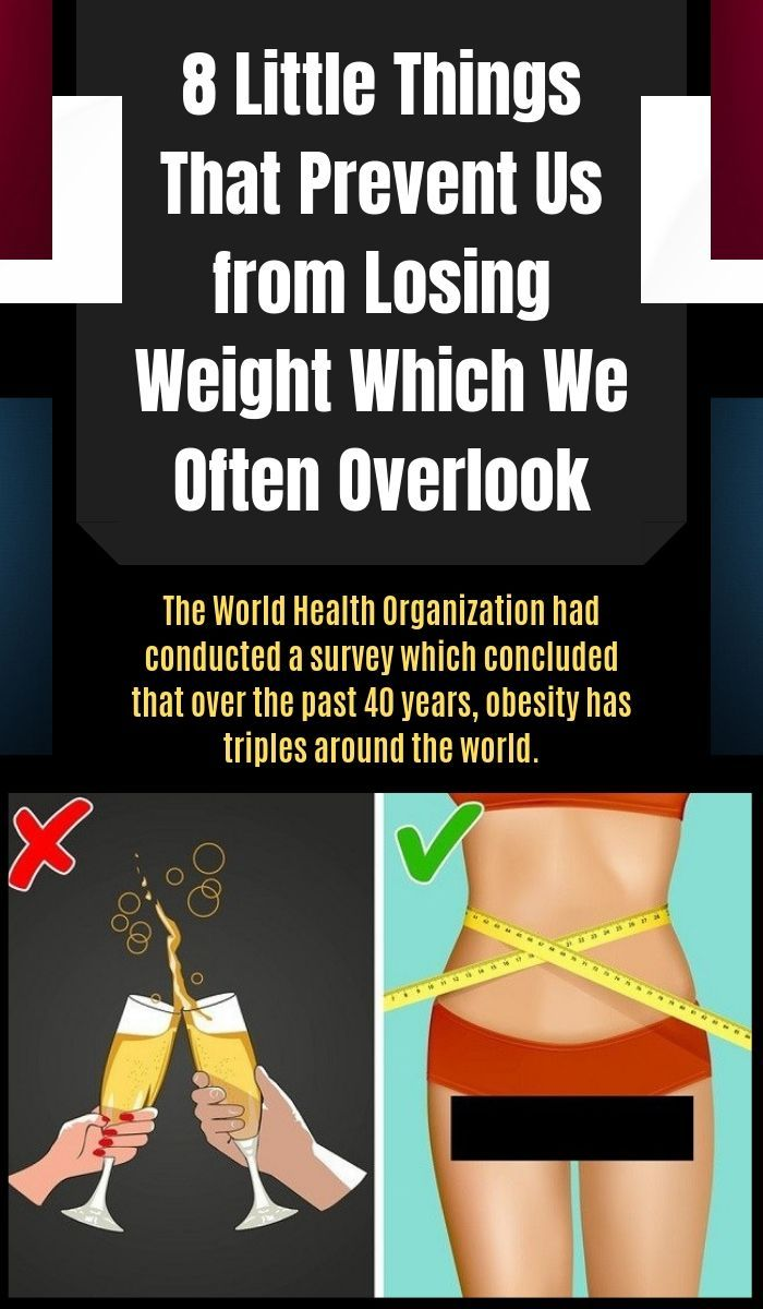 little things to lose weight