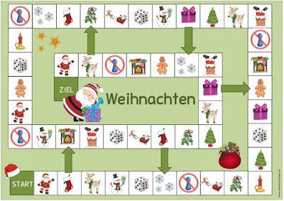 Ideenreise Weihnachtliche Spielfelder Für Englisch Und Daz