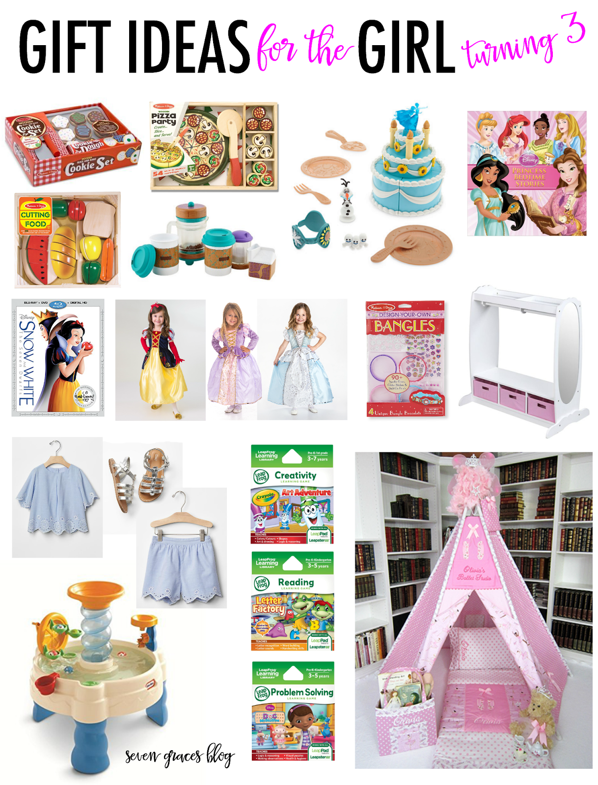Gift Ideas for the Girl Turning Three Third Gift and Girls