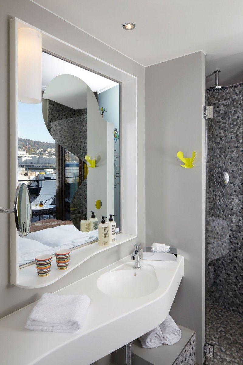 4Hours Hotel in Zürich  Hotel bathroom design, Bath design