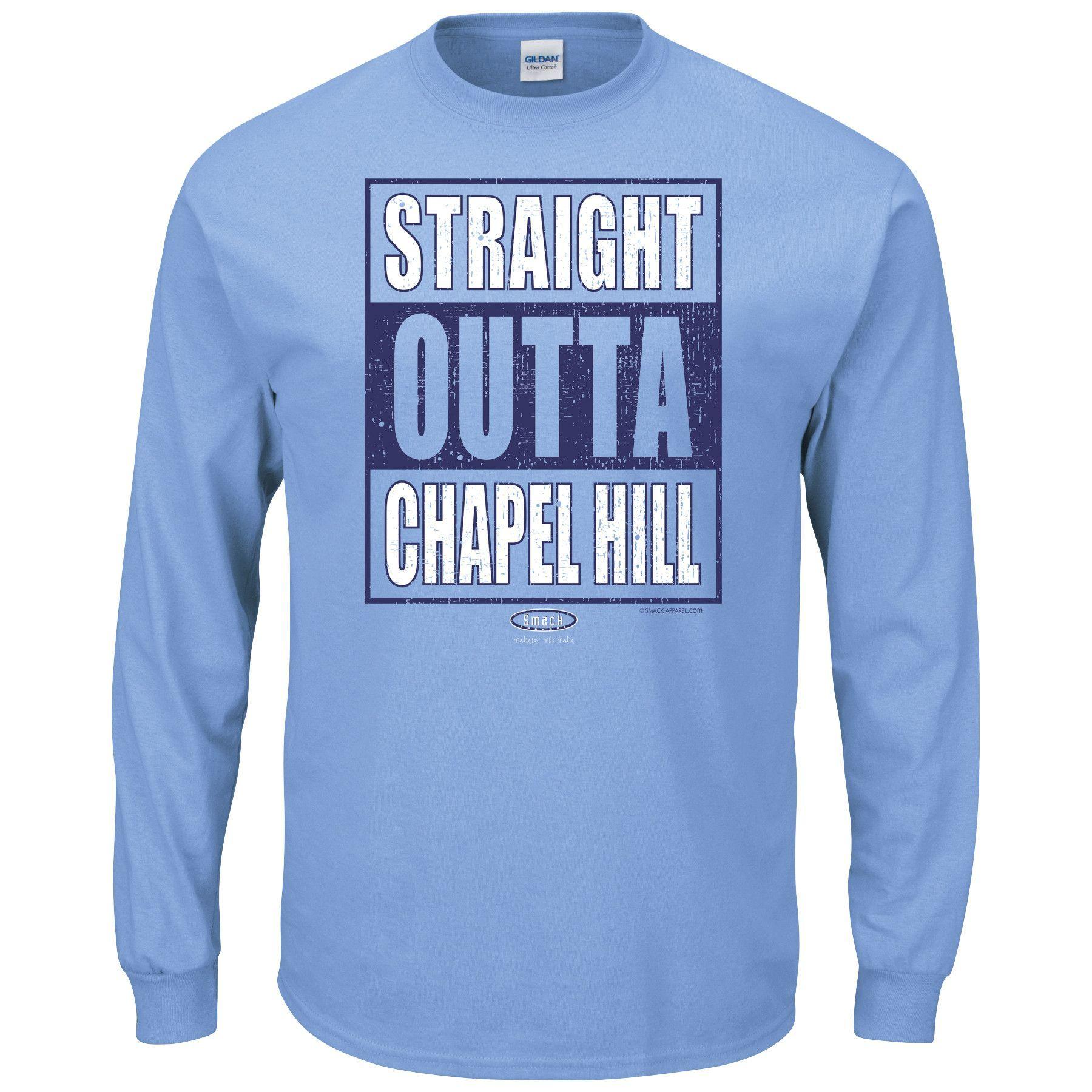 North Carolina Tar Heels Fans Straight Outta Chapel Hill Long