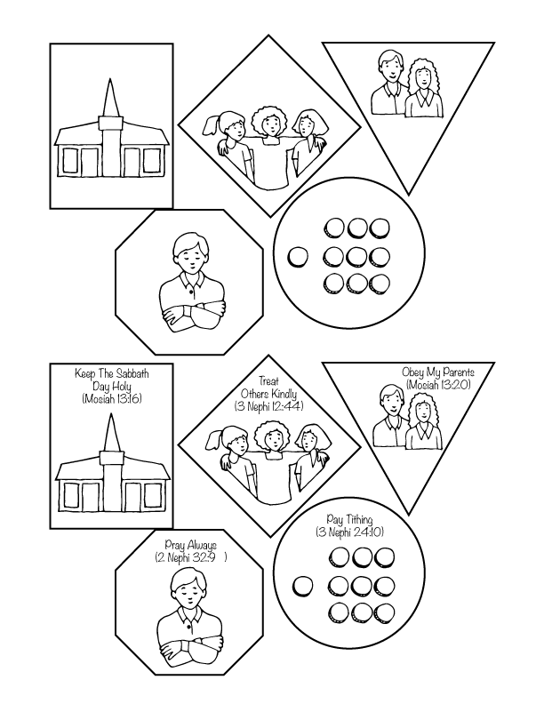 Primary 3 Lesson 3 The Commandments Help Us Choose the Right ...