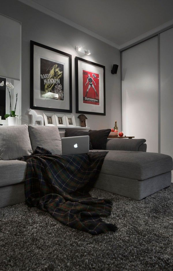 Carpeting For Bedrooms Concept Decoration small apartment design in moscow defined image | apartement