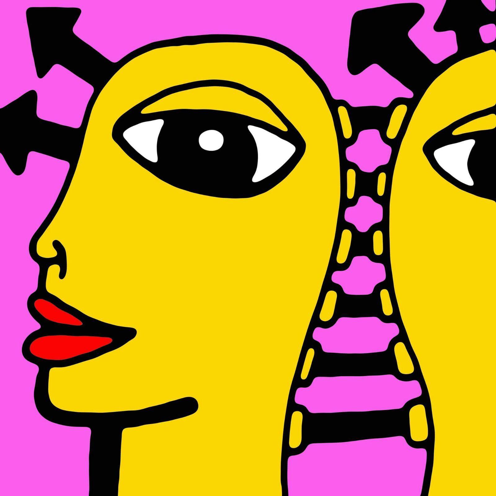 Marc craig london street artist digital colour print on