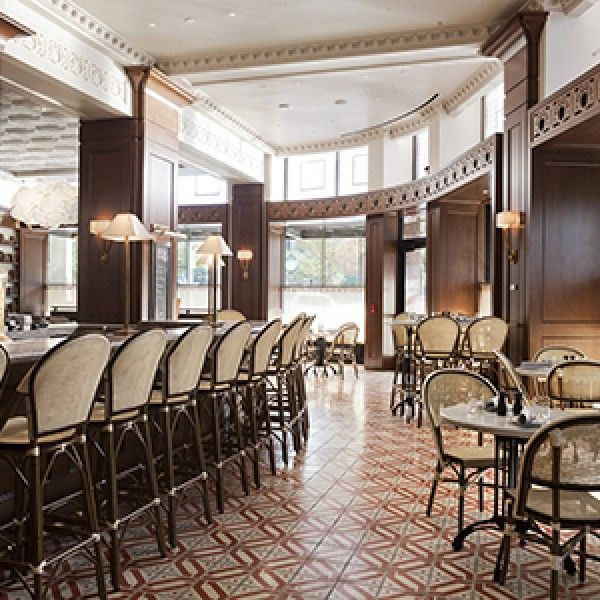 Aluminum Rattan Cafe Chairs And Bar Stools At Anson 11 In El Paso, TX.  Restaurant ...