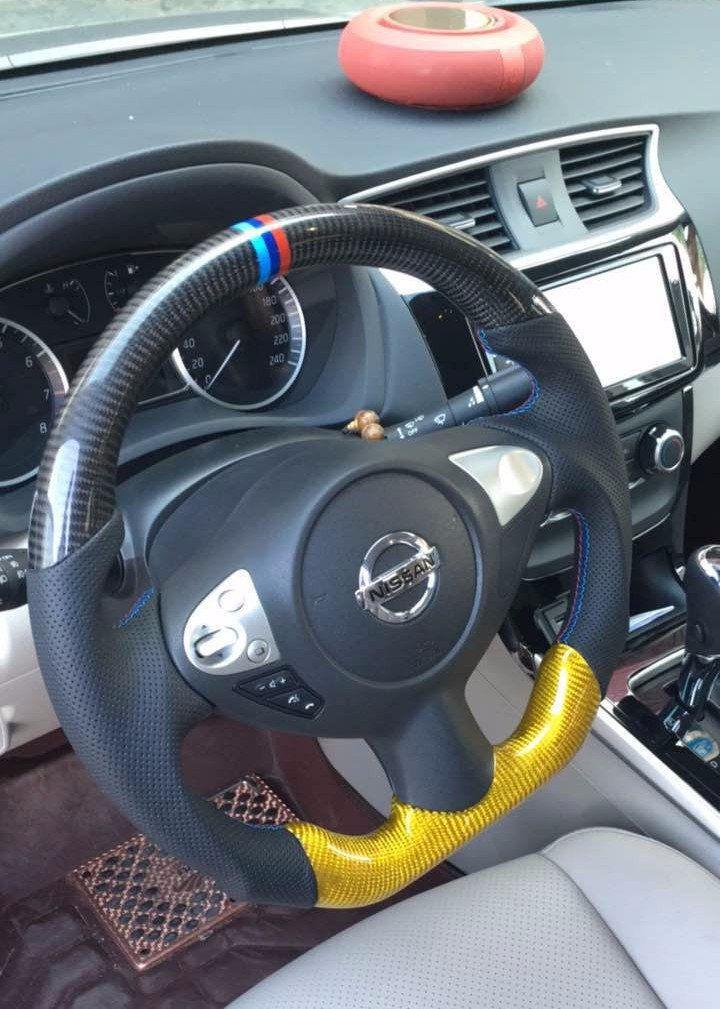 Custommade Carbon fiber Steering Wheel for 2009 2014