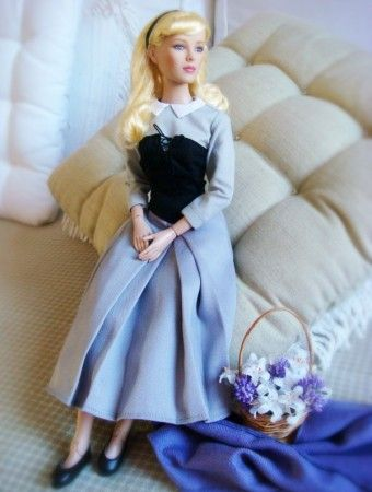 Alex Pedreira's Sweet Aurora as Briar Rose #fashion #dolls