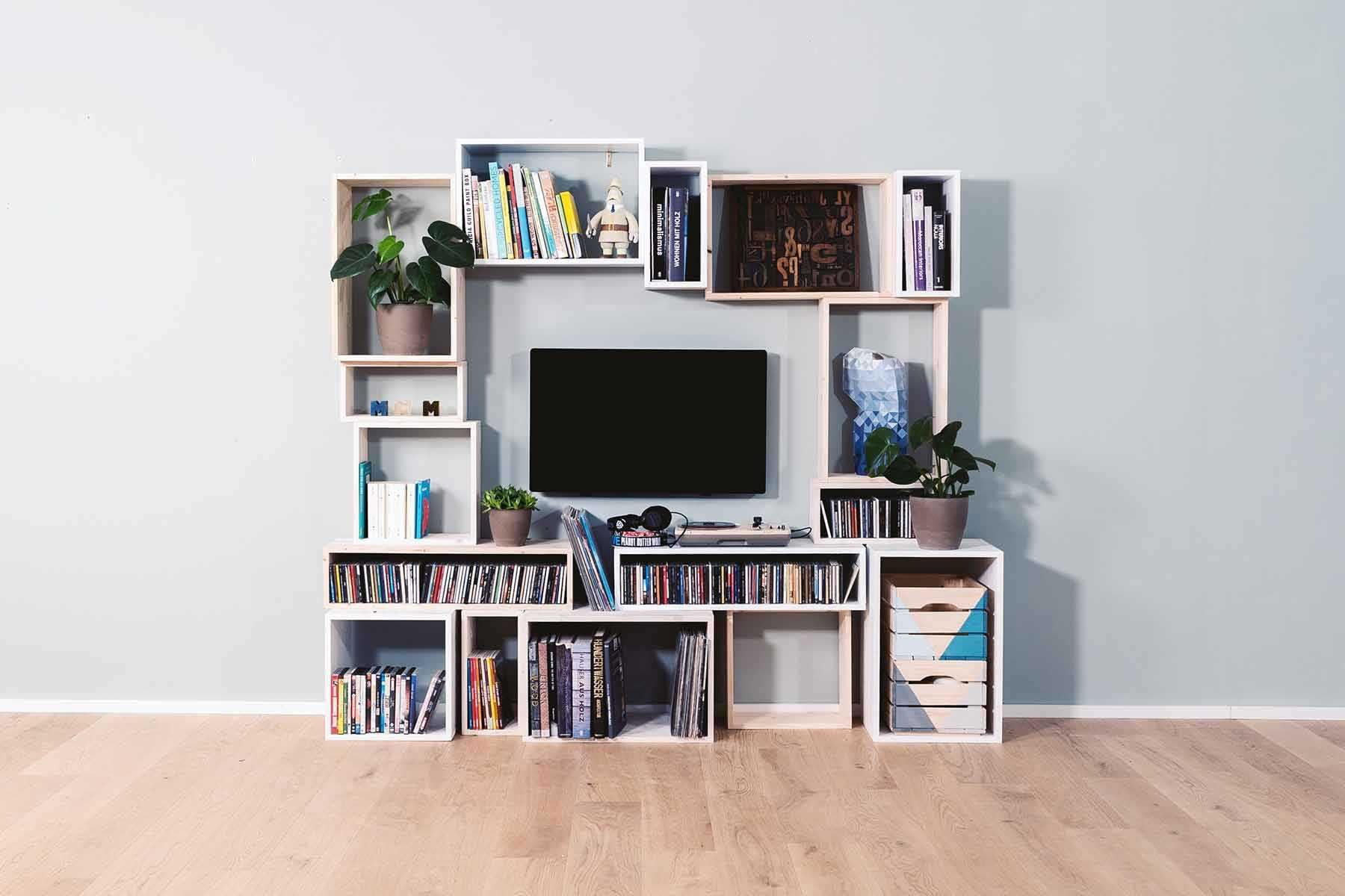Regal Max selber bauen Alle Möbel | Tv wand selber bauen