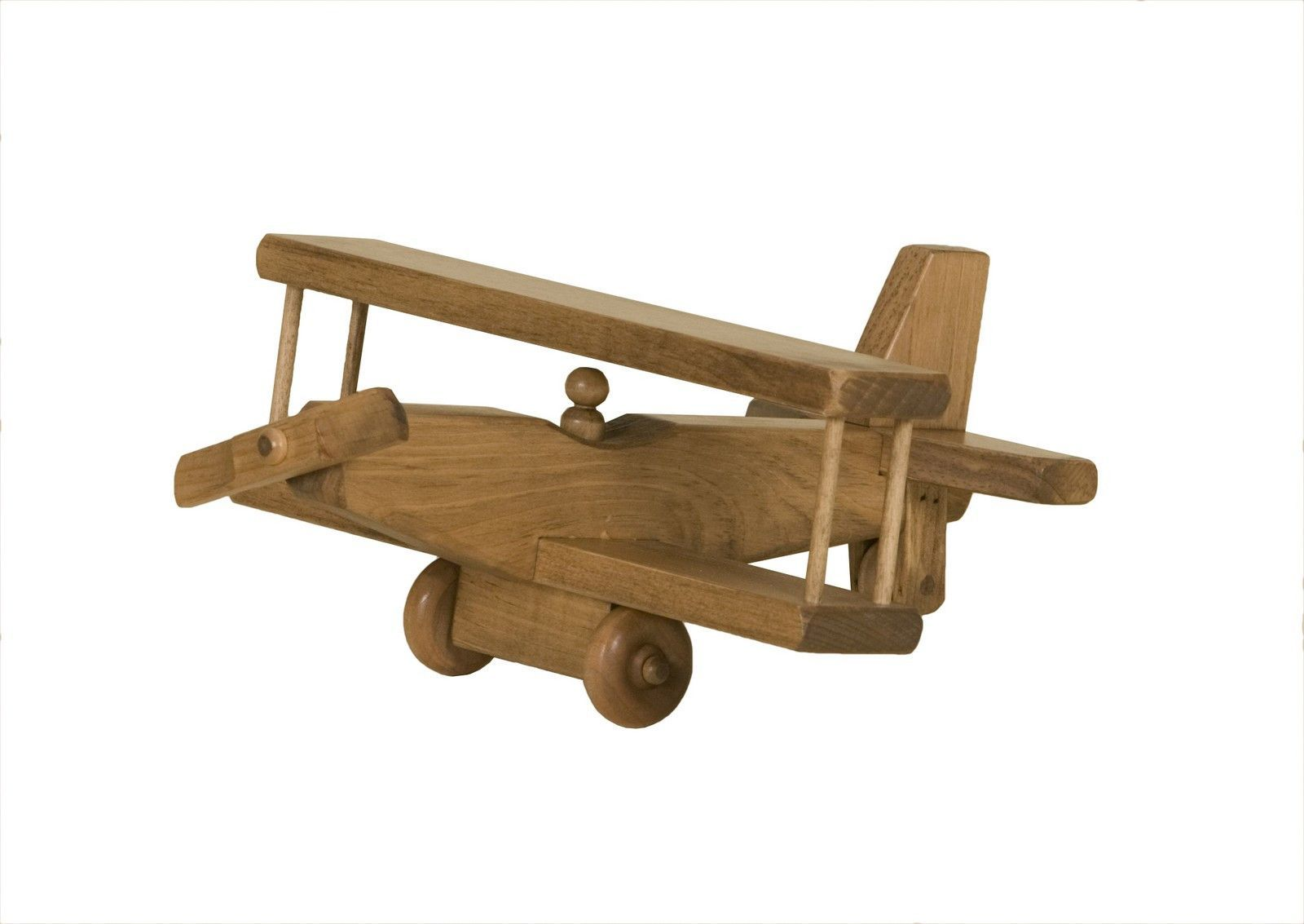 Wooden Airplane Toy Amish Made Making Wooden Toys