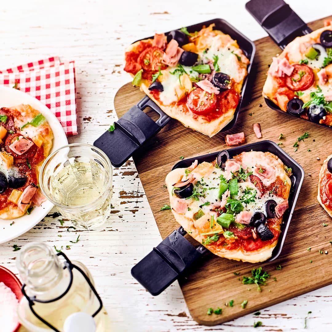 Raclette-Pizza - Rezept | EDEKA #racletteideen