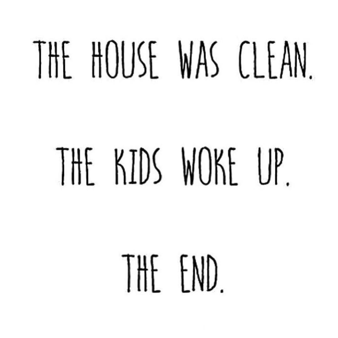 Quotes About Cleaning But I Spent All Sunday Cleaning Momlife  Httpparentees.co