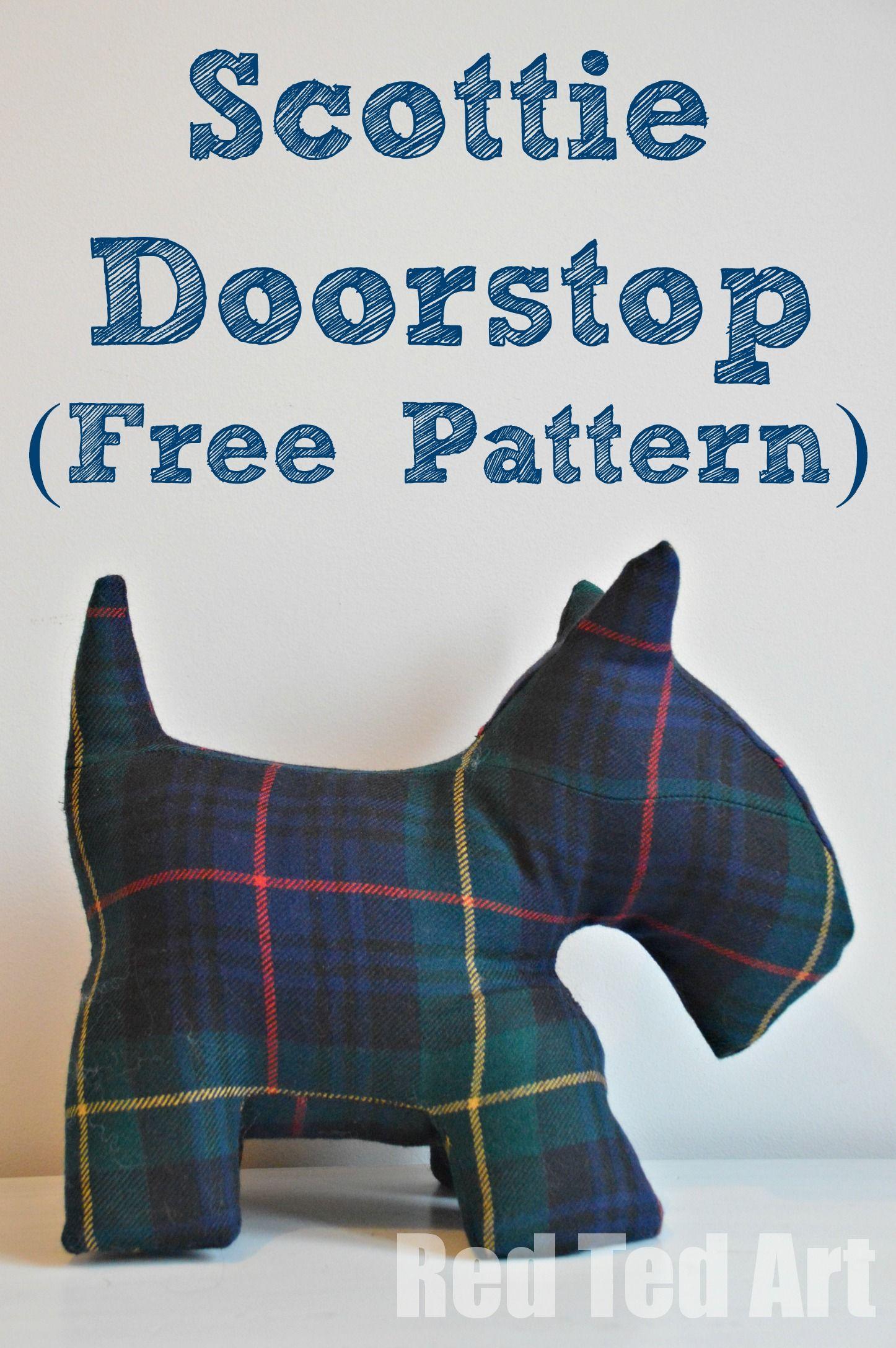 scottie pattern 3 free pattern christmas gifts and dog pattern