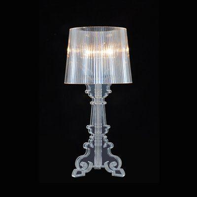 Bethel International Gl50 1 Light Gl Series Acrylic Shade Table Lamp