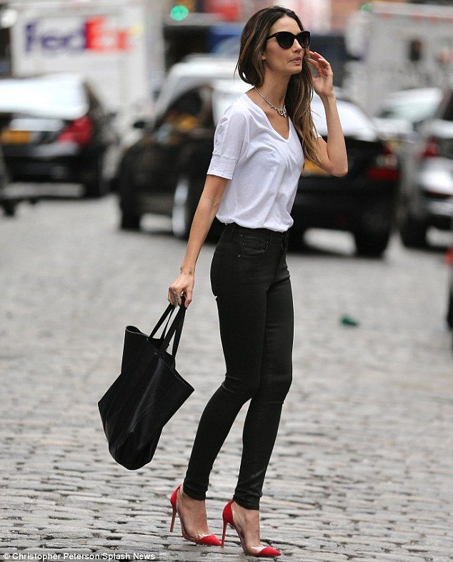 1000  images about Style inspiration - white tee on Pinterest ...