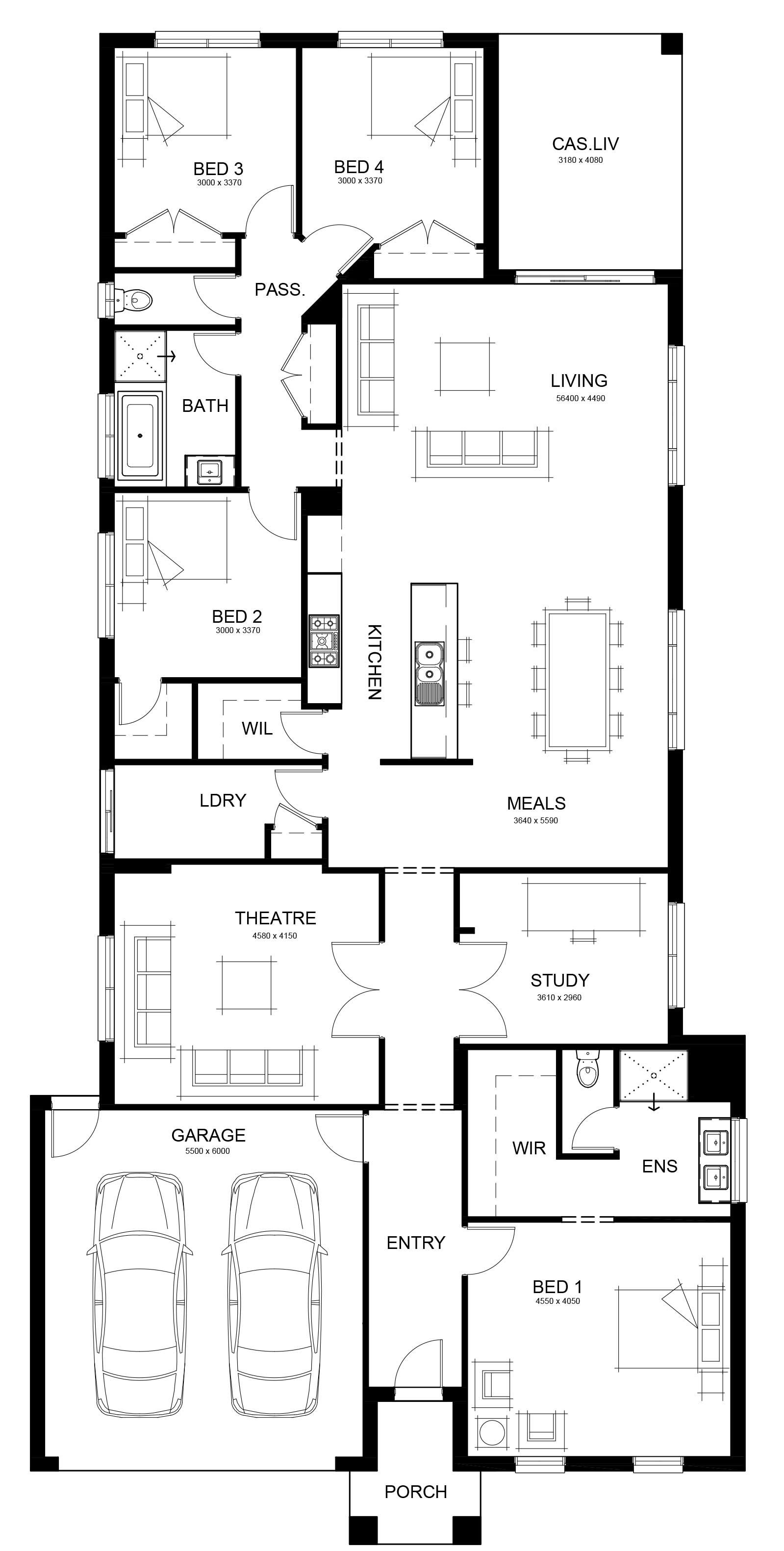 Floor Plans Of Sansara 285 By Long Island Homes Floor Plan Design Long Island House House Blueprints
